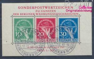 Berlin-West-Block1-geprueft-Ersttagssonderstempel-gestempelt-1949-8291840