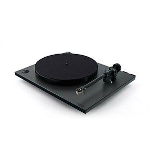 REGA-RP1-Plattenspieler-Cool-grey-schwarz-Carbon-MM-Turntable-SONDERANGEBOT