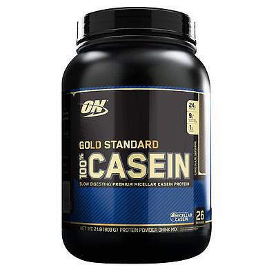 Optimum Nutrition Gold Standard 100% Casein Protein - 2 LBS FREE SHIPPING