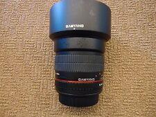 Samyang 85mm f/1.4 Aspherical IF UMC Lens EF Canon EOS Mount