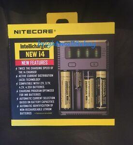 NEW-2019-NITECORE-I4-Intelli-charger-For-AA-18650-18500-14500-18350-18700