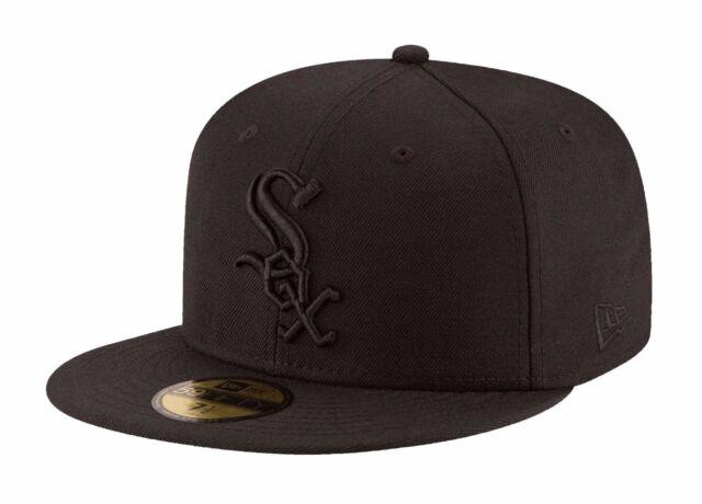 b57c248b1 Era 59fity MLB Baseball Fitted Hat Cap Custom Chicago White Sox ...