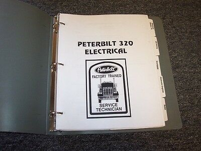 1997-1998 Peterbilt Model 320 Factory Electrical Wiring ...