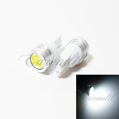 Parts Electrical 2 Yellow Dantoo Super Bright T10 LED Bulbs 194 ...
