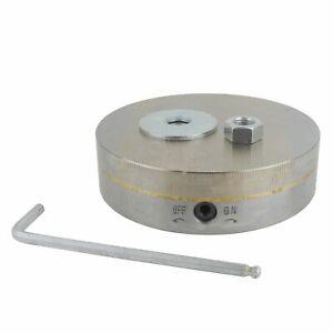 Magnetspannblock-Magnetspanntisch-Magnetspannplatte-Magnetic-Chuck-rund-200mm