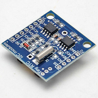 Real Time Clock Module For AVR ARM PIC New I2C RTC DS1307 AT24C32