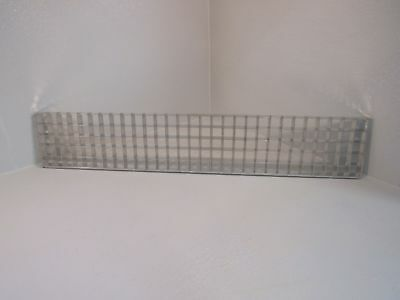 Standard Fluorescent Light Diffuser 1in Grid Chrome 44in X