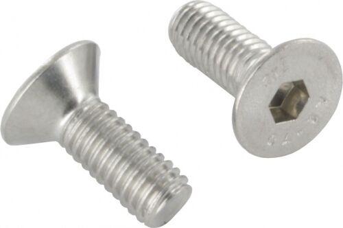 ISO 10642 M8 x 65mm 10er Pack Senkkopfschraube mit Innensechskant