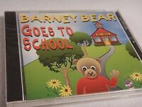 Barney Bear Goes To School - 1992 Pc Computer Cd Game By Free Spirit -