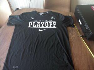 Nike-Dri-Fit-College-Football-Playoff-Shirt-Mens-XL-Black-Swoosh-MSU-Spartans