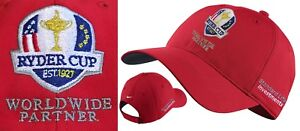 Nike-Golf-Ryder-Cup-Crested-Golf-Cap-Red-1st-Class-Post-Paris-2018