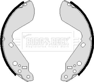 Analitico Borg & Beck Freno Scarpa Set Scarpe Bbs6031-vera Nuovo Di Zecca - - 5 Anni Di Garanzia-
