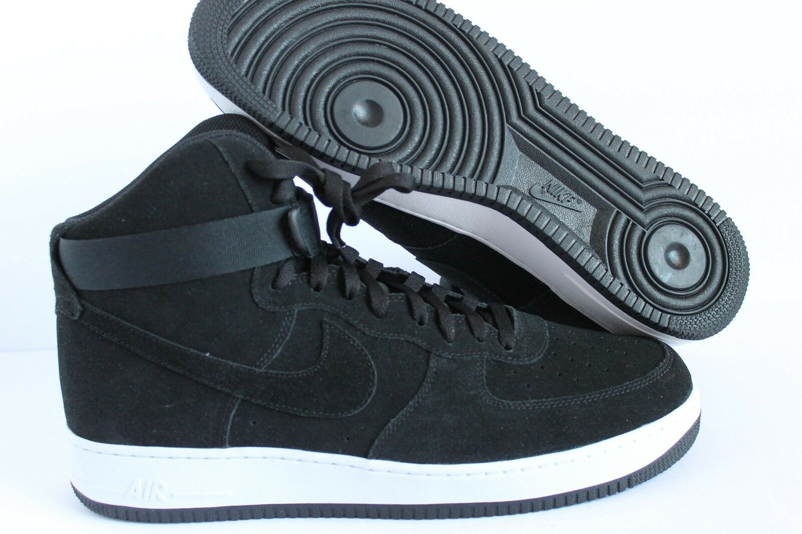 NIKE AIR FORCE 1 HIGH 07 BLACK/BLACK-WHITE Price reduction Brand discount