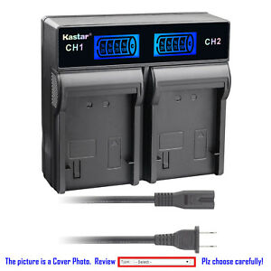 Kastar-LCD-Rapid-Charger-Battery-for-Sony-NP-F770-NP-F950-CCD-TR3300-CCD-TRV35