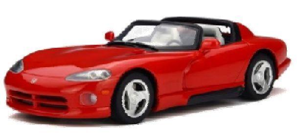 GT SPIRIT 156 DODGE VIPER RT 10 Résine Voiture Modèle rouge ltd ed 1500p 1 18th Scale