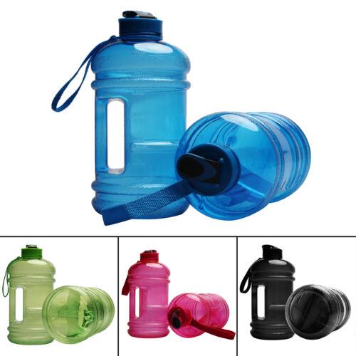 New 2.2L Big Large BPA Free Sport Water Bottle Gym Training Drink Cap Kettle