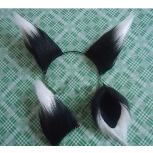 Japanese Fox Ears Tail Spice And Wolf Holo Long Plush Anime Prop Cosplay Popular