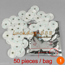 Electrode Pads For Portable Handheld Easy Home Ecg Ekg Heart Monitor 1pack 50pc