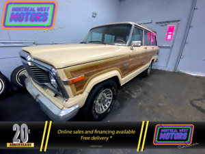 1985 Jeep Wagoneer Complete , Not Running, Virginia Truck With Second Wagoneer for parts