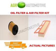 DIESEL SERVICE KIT OIL AIR FILTER FOR FIAT PUNTO 1.3 84 BHP 2012-