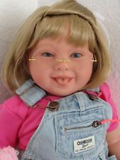 "Reborn 22""Toddler Girl Doll Katie"" -Down Syndrome Tribute -choose hair/eye color"