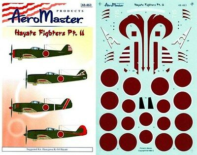 Aeromaster 48-464 - Decals 1/48 - Spitfires At War Pt. Iii