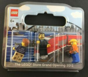 2012-LEGO-ELIZABETH-NJ-Grand-Opening-sealed-3-minifigures-RARE-NEW-440-500
