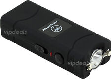 VIPERTEK VTS-881 110 MV Rechargeable Micro Mini Stun Gun LED Flashlight - Black