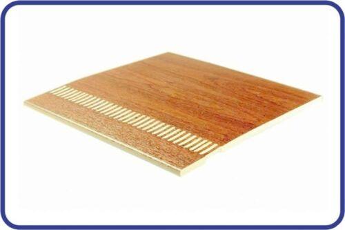 Kestrel 9mm uPVC Flat Vented Soffit Flat Board Ventilated Sherwood Golden Oak