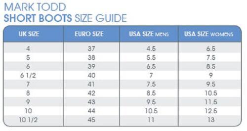 Mark Todd CAMPINO ZIP Paddock Boot Short Leather Riding Yard Unisex Sizes 38-45