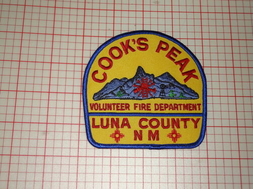 Cook/'s Peak New Mexico Fire Department Patch T3