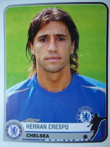 Panini 141 Hernan Crespo Chelsea FC Champions of Europe 1955-2005