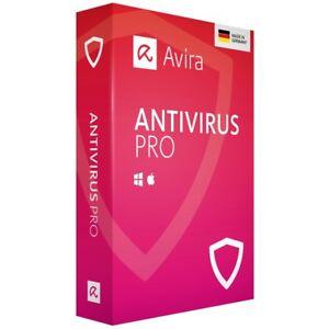 AVIRA AntiVirus PRO 2019 * 2 PC 3 Jahre * Vollversion DE Lizenz