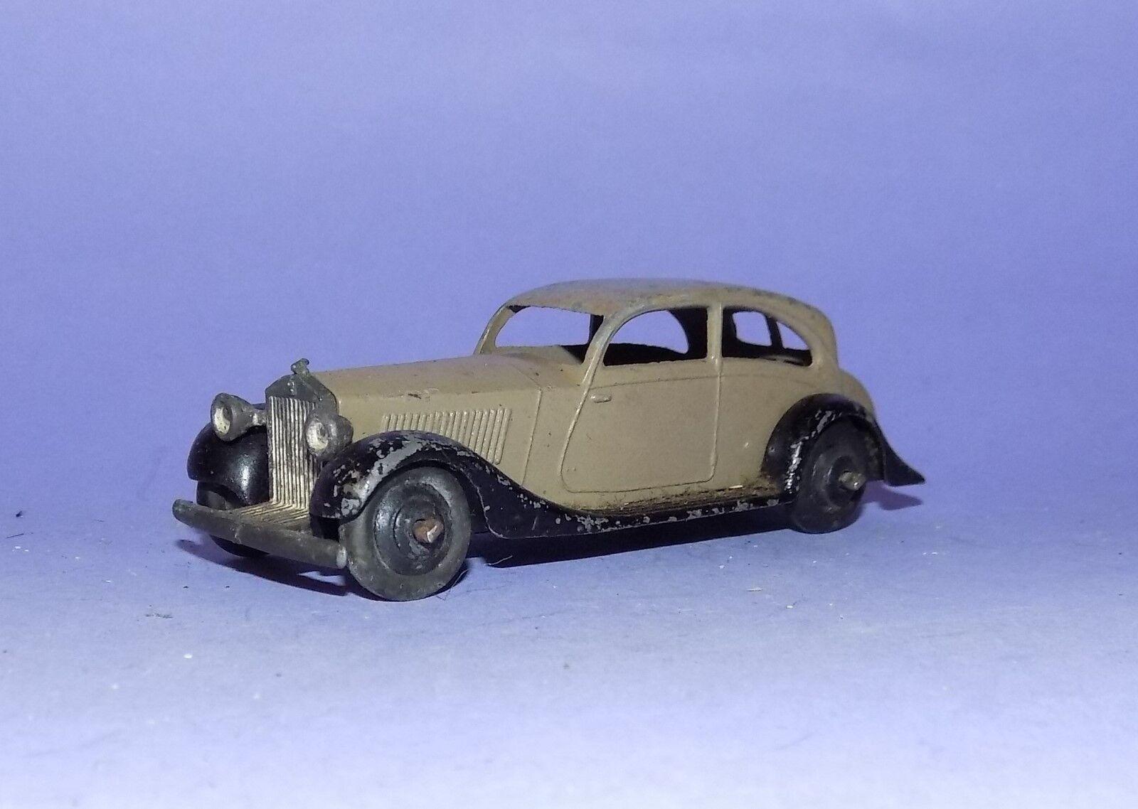 VINTAGE  1935 - 1950  DINKY TOYS  NO 30B  ROLLS ROYCE  LOT 1