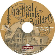 Practical House Building { Victorian Books ~ Floor Plans ~ Millwork } on DVD