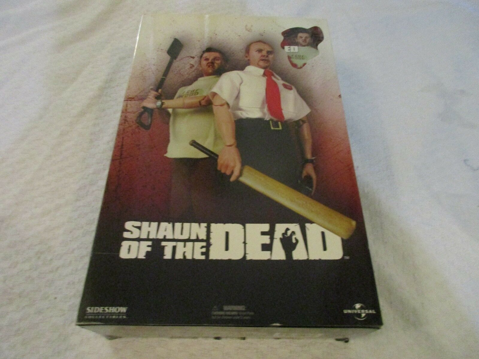 Sideshow Collectibles Shaun of the Dead Ed 12  Inch 1 6 Scale Action Figure