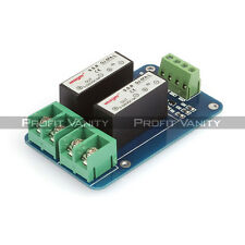 SainSmart 2 Channel SSR 5A DC-DC 5V-220V Solid State Relay For Arduino Mega UNO