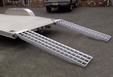 Aluminum Trailer Ramps - Mfg In The USA - 6ft.L x 16in W 5,000 lb Cap. Per Pair