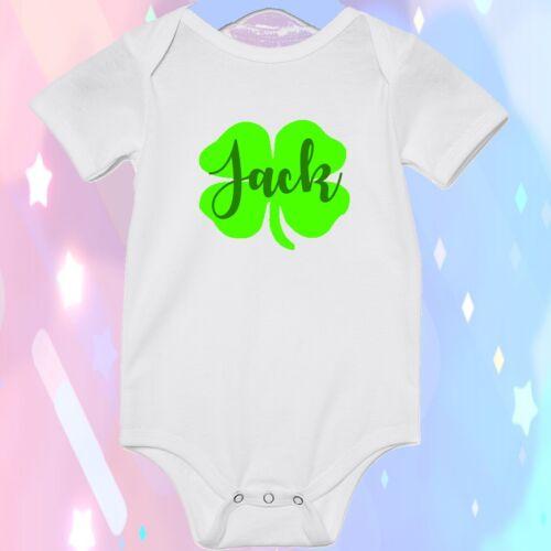 Personalizado Bebé 1st St Patricks Día Body Top Traje Niño Underlight irlandés
