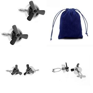 Novelty-Mens-Stainless-Steel-Shirt-Cufflink-Cuff-Link-Wedding-Business-Jewelry