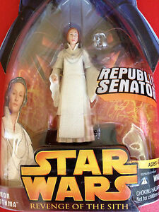 NEW-STAR WARS~Revenge Of The Sith Mom Mothma Figure~ship free