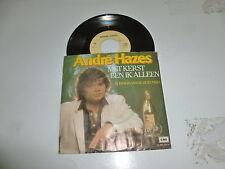 """ANDRE HAZES - Met Kerst Ben Ik Alleen - Dutch 7"""" Juke Box Vinyl Single"""