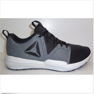 51a54ee5bdbd Reebok HYDRORUSH TR Gray Black Athletic Sneakers New Mens Shoes Size ...