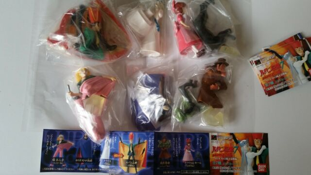 Bandai Lupin The 3rd part 7 figure Gashapon set new