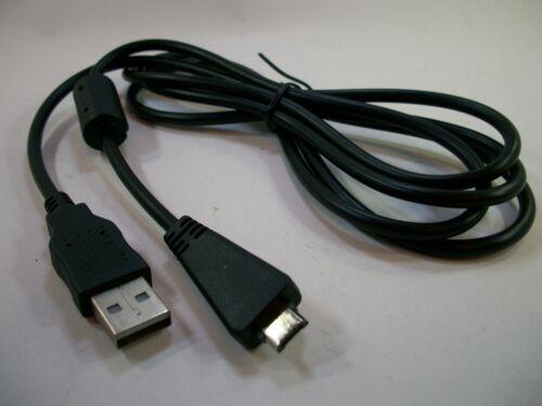 Sony Cyber-Shot DSC-HX100V//DSC-TX10 Kamera USB Kabel Akku Ladegerät