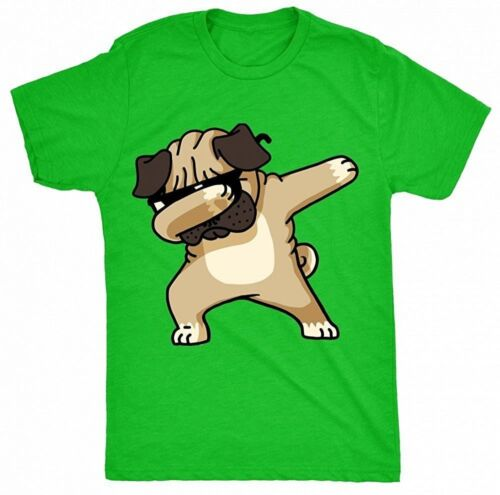 Dabbing Pug Funny Shirt DAB Hip Hop Dog Unisex T-Shirt