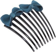 Vintage ALEEN Ribbon BOW Schleifen HAARKAMM Hair Comb Rockabilly
