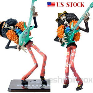One Piece NEW WORLD Zero Brook Figure PVC Japan Figurine Toy Gift 18cm / 7""