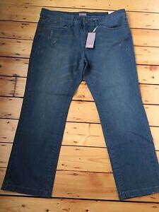 Bnwt-Da-TRIANGOLO-S-Oliver-Donna-Lusso-Jeans-D-54-F-56-UK-PLUS-SIZE-28-gamba-30-034