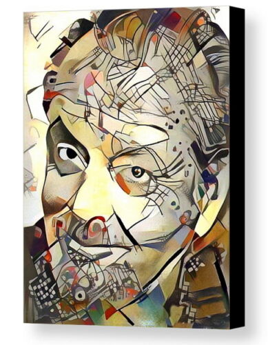 Framed Jack Nicholson Abstract 9X11 Art Print Limited Edition w//signed COA